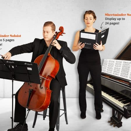 complete sheetminder system with musicians