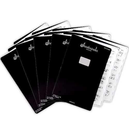 Bunch of soloist sheetminder