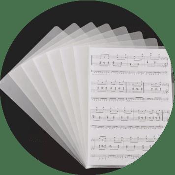 Sheetminder Soloist 5-Pack - adv 3