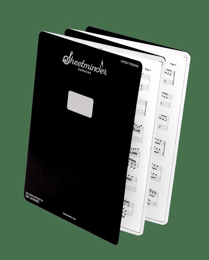 Sheetminder Soloist 5-Pack - book1